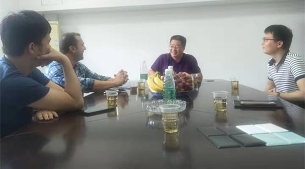 中美洲客户访问诺立釉料